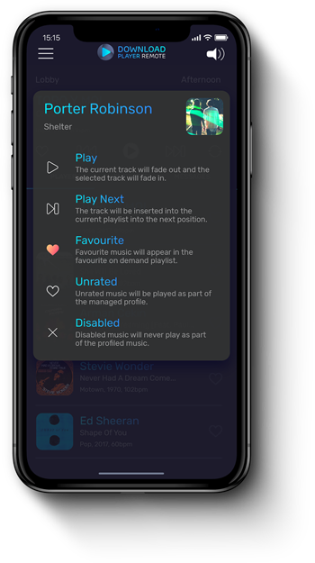 Download Player Remote - Skip, Pause, Favourite & Disable Tracks